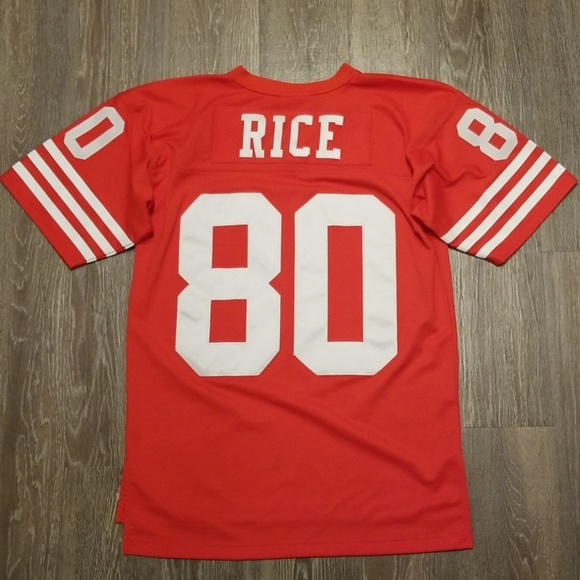 the best attitude 89971 0e32e Mitchell & Ness Jerry Rice 49ers Throwback Jersey